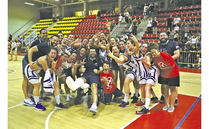 Basket femminile, la Magika Castel San Pietro torna in serie B