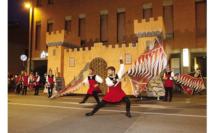 Festa con rievocazioni medievali a Bubano per il Palio del Torrione