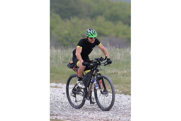 Stefano Romualdi alla «Great Divide», il medicinese per 4.400 km dal Canada al New Mexico. Seguilo in diretta