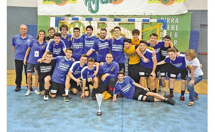 Pallamano, il Romagna Under 21 conquista il terzo posto alle finali nazionali di Merano
