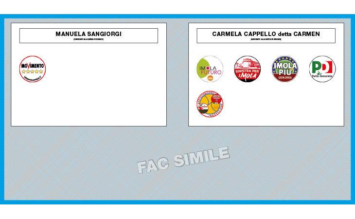 #ElezioniImola2018, domenica c'è il ballottaggio per scegliere la sindaca. La scheda e come si vota