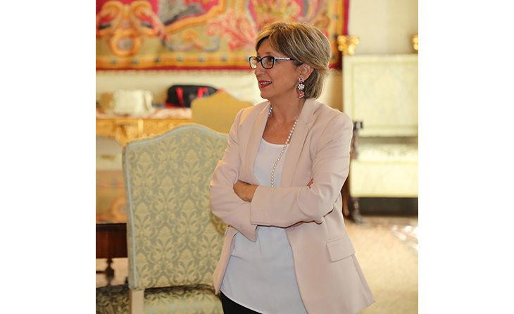 Il saluto della commissaria Cogode: «Imola città vitale, bel progetto per l'Osservanza»