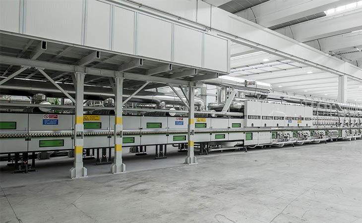 Florim, a Mordano un secondo forno per i formati oversize tra gli investimenti del 2018