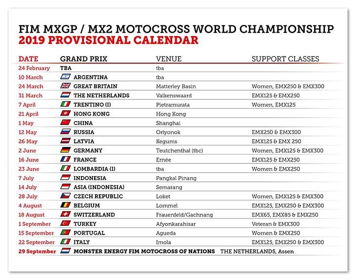 Calendario Mondiale Motocross.L Autodromo Di Imola Anche Nel Calendario Del Mondiale