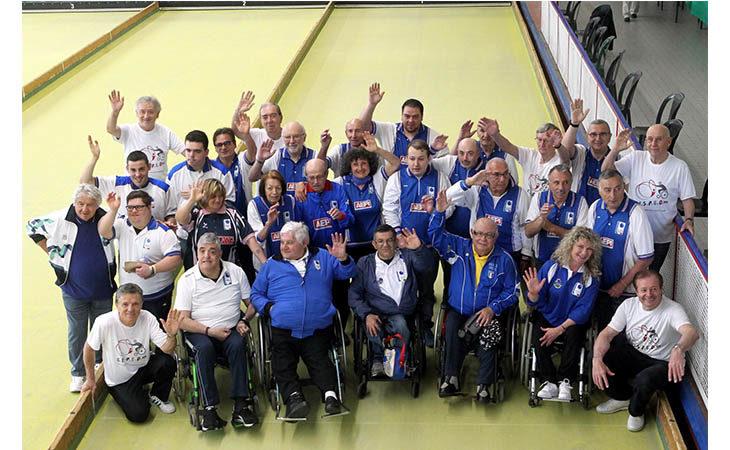 Sport e disabilità, alla Bocciofila di Imola è nato il Cisped