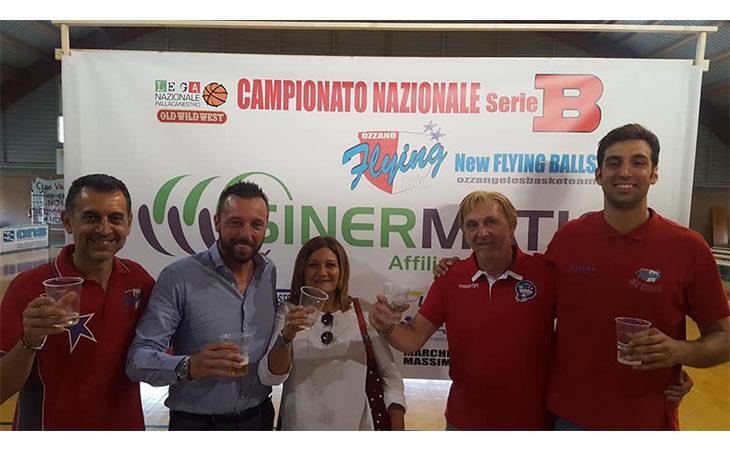 Basket serie B, Sinermatic è il nuovo main sponsor dei Flying Ozzano