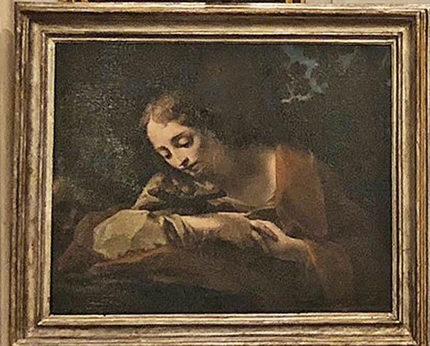 Il Lions Club Val Santerno restaura un dipinto di Palazzo Tozzoni