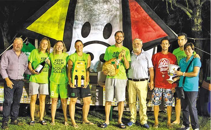 Acqua Volley, Claudia Zanotti e gli altri «Icicc» hanno vinto il torneo «bagnato» della Clai