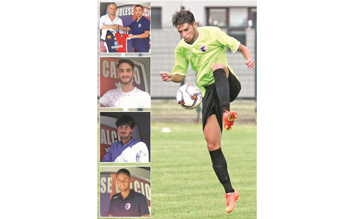 Calcio, cinque giovani ambizioni arrivati all'Imolese e cinque storie tutte da raccontare