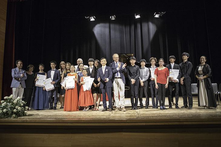 Premiati i giovani talenti dell'Imola Summer Piano Academy & Festival