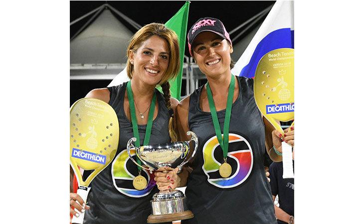 Beach tennis, per la mordanese Giulia Gasparri è tris… Mondiale