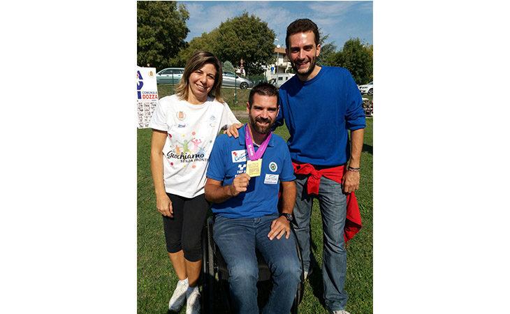Il Comune di Dozza conferisce la cittadinanza onoraria al campione paralimpico Stefano Travisani