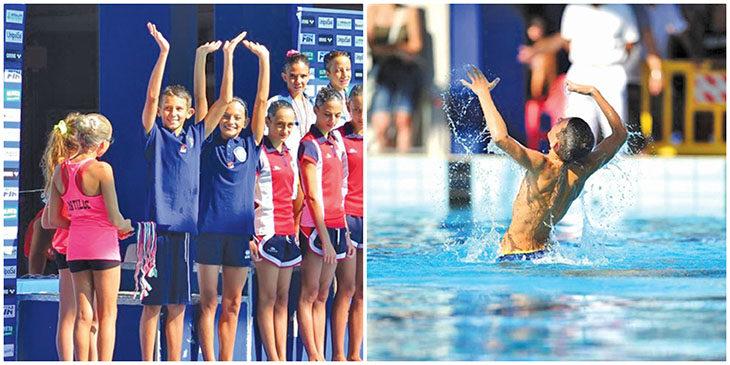 Nuoto sincronizzato, argento per il 12enne imolese Gabriele Minak ai campionati italiani
