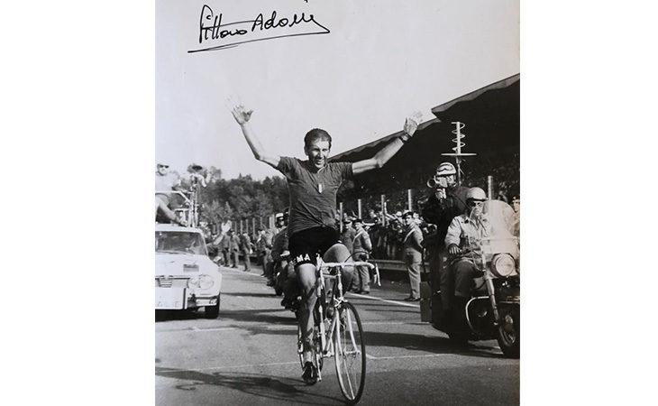 1° settembre '68, 50 anni fa Vittorio Adorni vinse il Mondiale di ciclismo a Imola. Tre giorni di eventi e Grifo per omaggiarlo