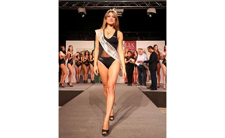 La 21enne centese Luigia Di Benedetto è la nuova «Miss Imola»
