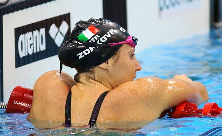 Europei di nuoto, terzo posto e record italiano per Carlotta Zofkova nei 100 dorso