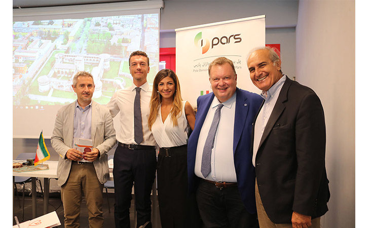 Gli imolesi Andrea Zucchini e Parnia Amani di I-Pars porteranno all'autodromo una delegazione di imprenditori iraniani
