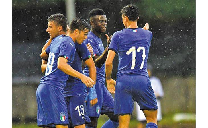 Calcio, Castello e Medicina si colorano d'azzurro con l'arrivo dell'Italia U19