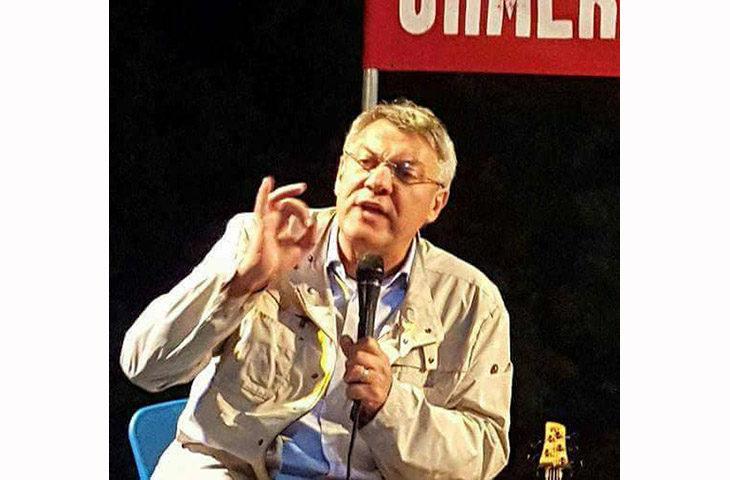 Maurizio Landini questa sera alla Festa della Cgil di Imola