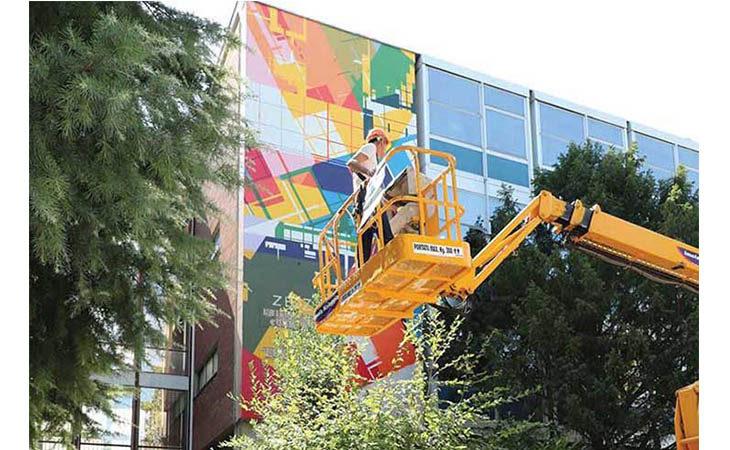 Torna RestArt e per tre giorni l'arte urbana colora le scuole Paolini, Valeriani e Valsalva