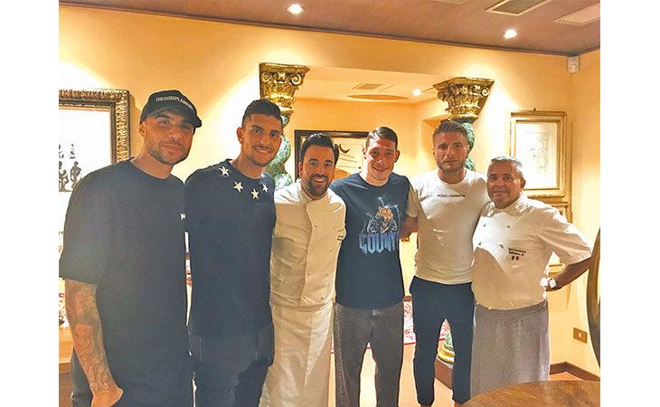 Poker azzurro al San Domenico: un sabato con i calciatori Zaza, Pellegrini, Belotti e Immobile