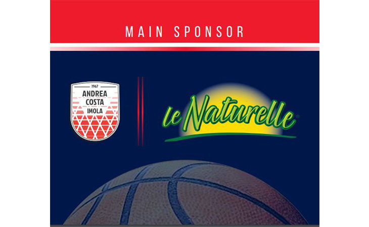 Basket A2, «Le Naturelle» del gruppo Eurovo è il nuovo main sponsor dell'Andrea Costa