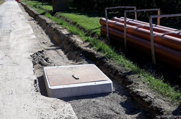Finiranno entro metà ottobre i lavori di Hera per collegare le case di Selva al depuratore Santerno