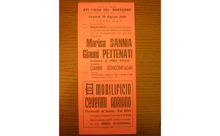 C'erano una volta… i Mondiali di ciclismo, alla Fiera del Santerno nel 1968 presenta Gianni Boncompagni