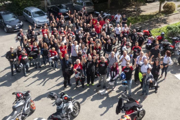 Ducatisti per Montecatone