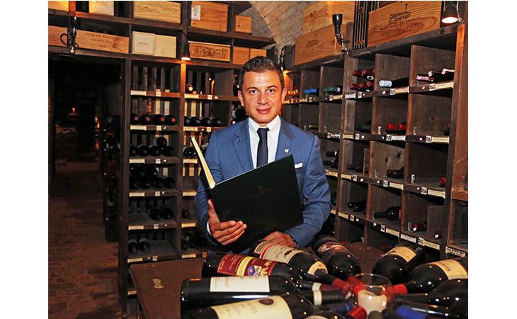 Intervista a Francesco Cioria, il sommelier e manager che gestisce i vini del San Domenico