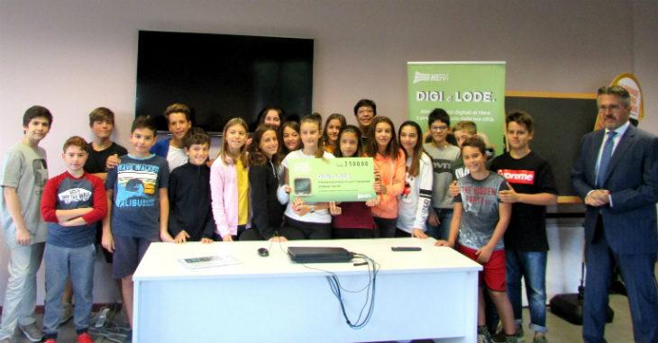 Con Digi e lode Hera premia tre scuole di Imola e stanzia altri 100.000 euro per il prossimo anno scolastico
