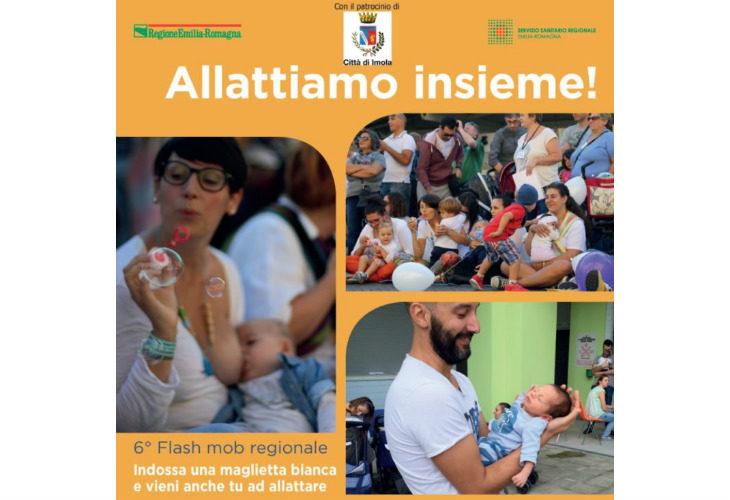 Allattiamo insieme! Il flashmob va in scena sabato 6 ottobre alle 10 a Imola, in piazza Gramsci