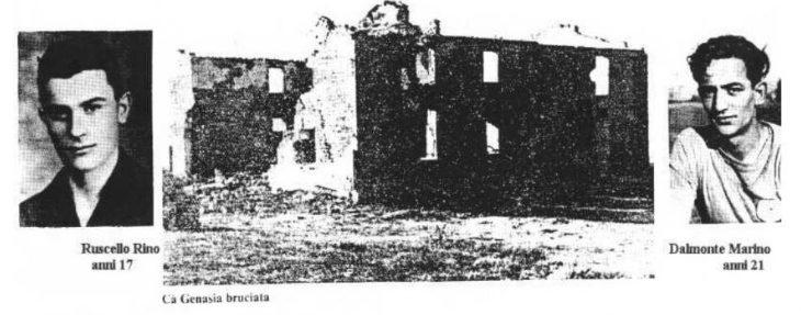 Ca' Genasia, domani 6 ottobre la cerimonia di commemorazione dei partigiani uccisi nel 1944