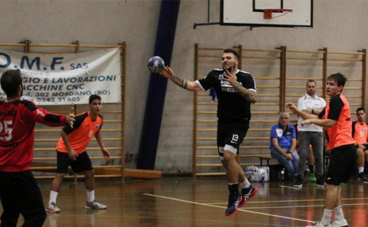 Pallamano A2, il Romagna supera Ferrara e centra la prima vittoria in campionato