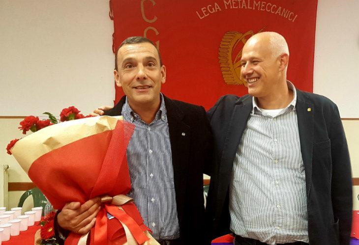 Congresso Fiom Imola, Stefano Moni nuovo segretario generale, Pedini si occuperà del sindacato regionale