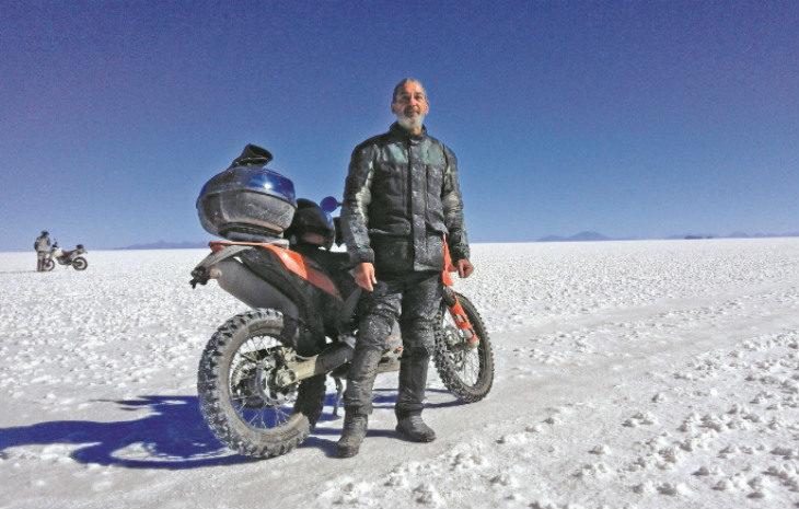 Il viaggio della vita di Alessandro Balducci, dipendente Cefla che ha percorso 6.000 chilometri in moto sulle Ande