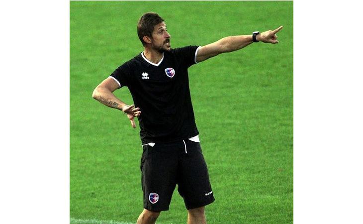 Calcio serie C, il tecnico Alessio Dionisi nel post partita di Imolese-Pordenone. IL VIDEO