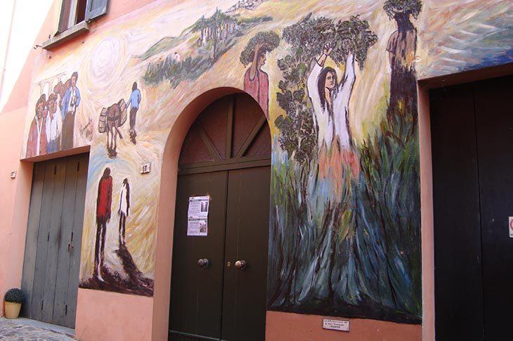 Le Giornate del Fai a Dozza tra Rocca, Tana del Drago, muro dipinto e chiesa dell'Assunzione