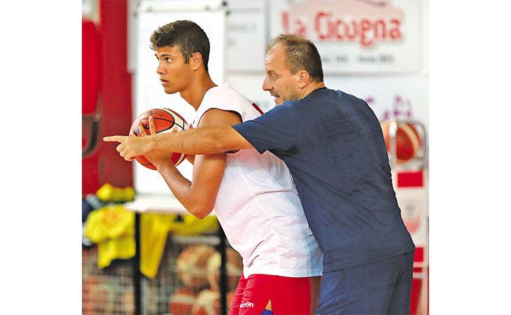 Basket serie B, Sinermatic Ozzano-Lugo è anche il doppio derby per Tommaso Rossi