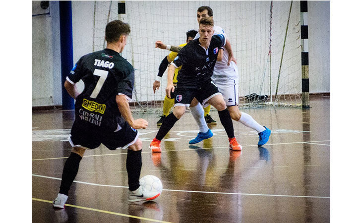 Futsal B, l'Imolese-Kaos a Vicenza sale sull'«ottovolante»
