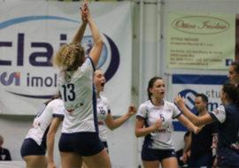 Pallavolo B2 femminile, la Csi Clai Imola vince al debutto. Male la Vtb Ozzano a Forlì