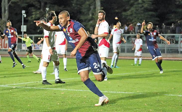 Calcio serie C, il centrocampista dell'Imolese Saber Hraiech si racconta