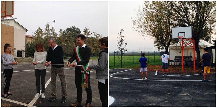 Taglio del nastro e subito primo torneo per il nuovo campo da basket di Portonovo