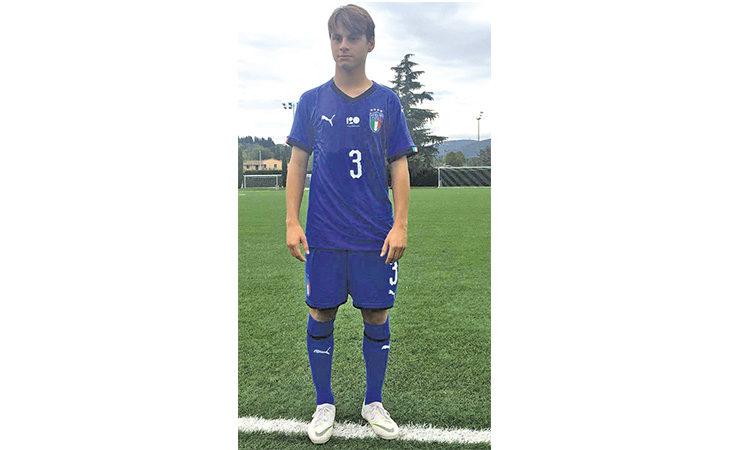 Calcio giovanile, il medicinese Riccardo Montalbani convocato nella nazionale Under 15