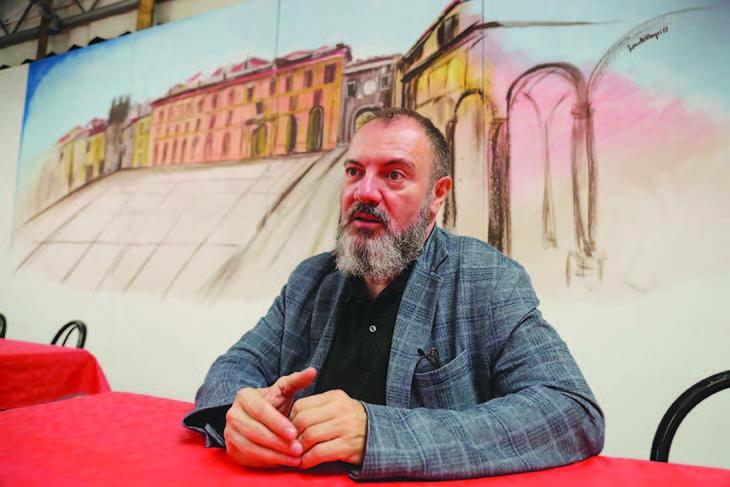 Lucarelli presenta «Peccato mortale» alla Rocca di Dozza per «Turno di notte»