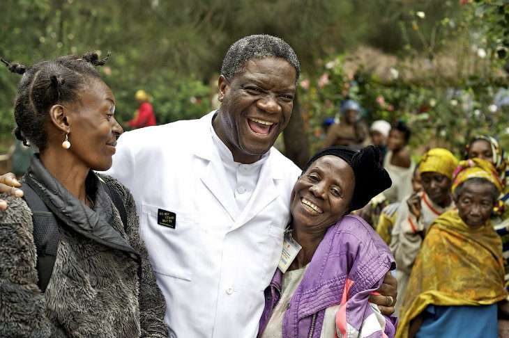 La testimonianza di Noemi Dalmonte sul medico Denis Mukwege, premio Nobel per la pace 2018