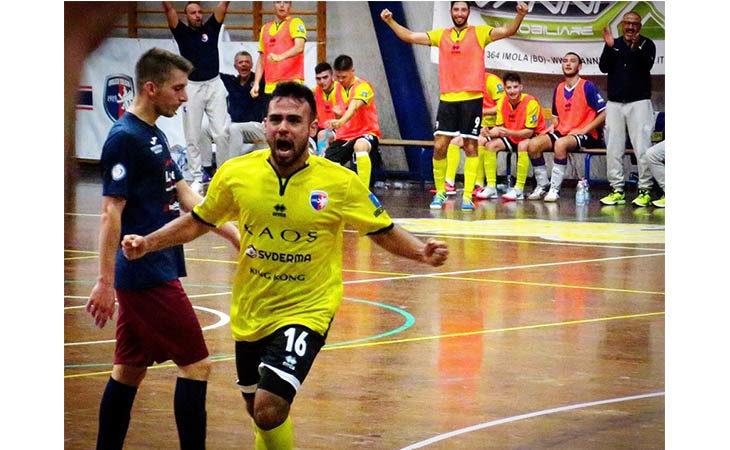 Futsal B, Imolese Kaos a valanga contro l'Atesina