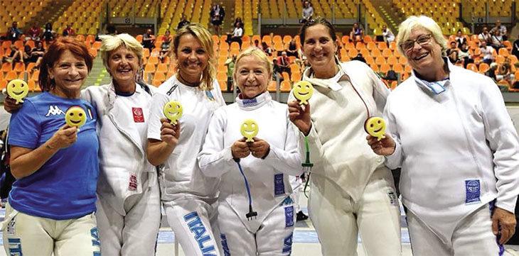 Scherma, tris di medaglie per una strepitosa Iris Gardini nel Mondiale Master