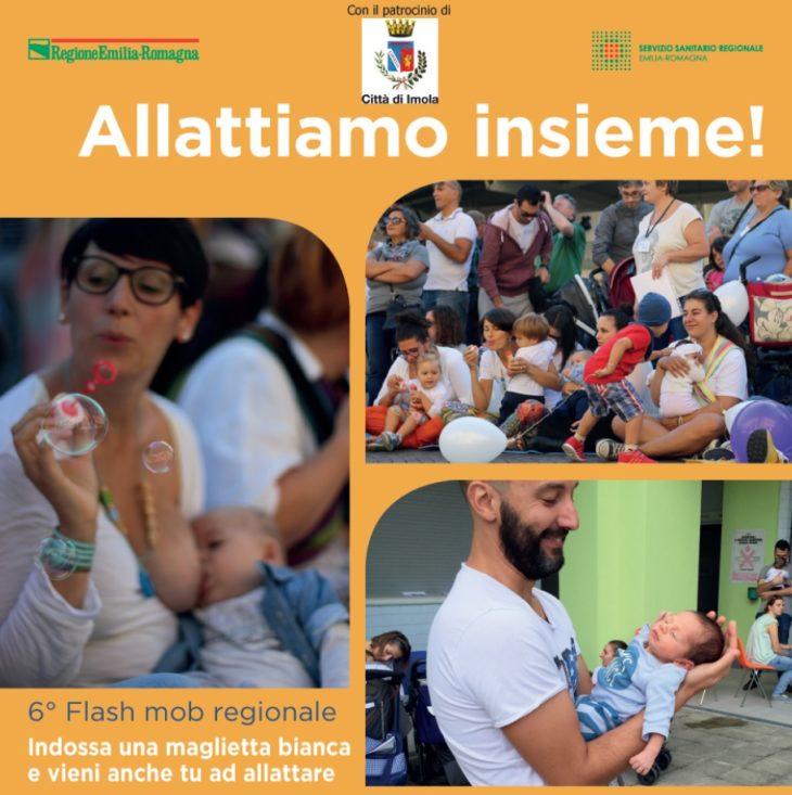 Allattiamo insieme, flash mob a Imola il 6 ottobre