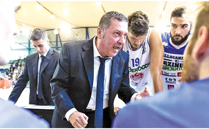 Basket serie B, il coach castellano Stefano Salieri promuove la Sinermatic Ozzano